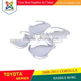 HANDLE BOWL CHROME DOOR HANDLE BOWL INSERTS COVER FOR TOYOTA COROLLA 2008-2010