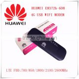 New Arrival Unlocked Original 150Mbps HUAWEI E8372 4G LTE Modem WiFi Router Support LTE FDD 700/850/1800/2100/2600MHz