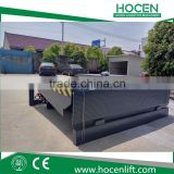 ISO Certificate Adjustable Height 8T, 10T, 12T,15T Car/Trailer Loading Ramp Hydraulic Electric Heavy Duty Loading Ramp Price