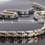 2014 Fashion neodymium bio therapy magnetic bracelet and necklaces, 99.999% germanium, gift