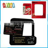 Wholesale customized magnetic refrigerator sticker photo frame, promotional refrigerator magnetic