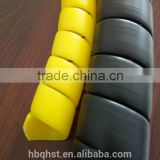 Cambered spiral protective sleeve/hose protection sleeve