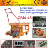 Shengya QM4-45 concrete egg laying diesel engine machines small scale industries in india images China product