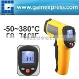 Handheld Non-Contact 12:1 DS IR Laser Infrared Digital Thermometer with Laser Target Pointer