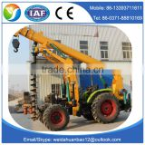poling machine pole digging machines