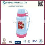 Wholesale competitive price 1.8L thermos glass refill vacuum flask with 2 cups for daily life