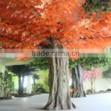 factory price hot sale artificial red maple trees