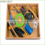 Wonderful Quality Bamboo Drawer Organizer/Homex_BSCI