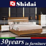 2016 modern metal decorating furniture design plywood box bed and cabinet sets