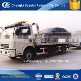Cheap price left hand drive roll back tow truck