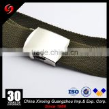 Buckle silver color tactical officer military army soldier marine PP or nylon tactical belt for men