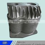 cylinder block casting used for the train brake with the brake cylinder