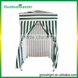 Pop-Up Stripe Green Color Beach Cabana Tent