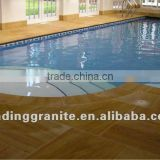 wood vein sand stone swimming pool