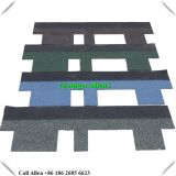 Colorful Fiberglass Goethe asphalt shingle roof tile for Chile Vietnam Philippines