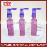 Halal Square Bottle Sour Fruit Liquid Spray Candy Drink