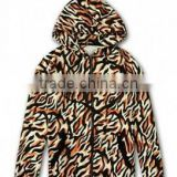 Bulk wholesale women bulk crewneck Tiger Print Hoodie pullover hoodies western style autumn new easy tiger head printed hoodies