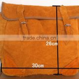 Hardware electrician leather bag, welded wire insulation kits waterproof leather tool bag