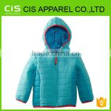 European Nylon down Kid's wear winter cute jacket outdoor child garment