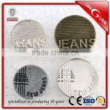 High quality news fashion Alloy Jeans Button