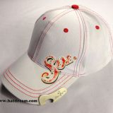 100% cotton promotional custom logo bottle opener hat