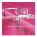 plastic beautiful banquet table skirting clips