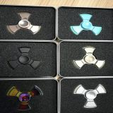 2017 the newest fashionable hotsale products led hands spinner fidget spinner bearing toys