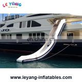 Giant inflatable Yacht Water Slide For Boat , Inflatable Boat Slide For Sale