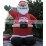 outdoor Christmas holiday decoration inflatable santa claus