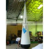 5mHx1mDia inflatable light cone, advertising cone