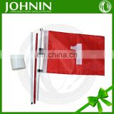 2016 high quality free design custom golf flags