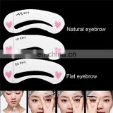 Makeup Genuine House Thrush Card Novice Simple Three Kinds Of Eyebrow Eyebrow Stencils Eyebrow Tools Eyebrow Card