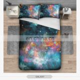 3d digital zohra sublimation galaxy stary aztec emoji face home decor cheap ready stock print wedding bed sheet