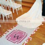 Our New Monogram Aisle Runner