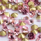 Crystal chaton stones for decoration,point back rhinestone