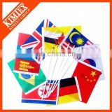 Cheap polyester custom hand flag