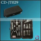10pcs profession manicure & pedicure set leather CD-JT029