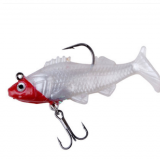 Stock soft lure 10g 14g 23.5g swim bait sinking fishing lure
