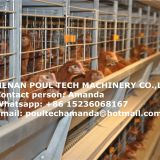 Poultry Farm H Frame Full Battery Layer Chicken Cage Equipment Used in Chicken House for Farmer