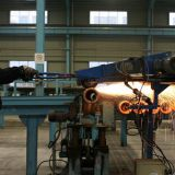 Drill pipe out surface grinding machine (friction welding repair)