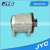 Car alternator, 24v small alternator, low rpm ac alternator generator 24V*2groover*Double feet110*right