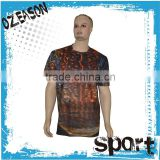 Sublimation t shirts / customize 100% Polyester Sublimation T Shirts for sublimation printing