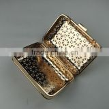 NEW!Golden Square Metal Mesh Box Frame Crystal&Clutch&Purse Frame
