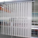 Manual Vertical Blinds With Fire Retardant and Uvioresistant Sheer Fabric