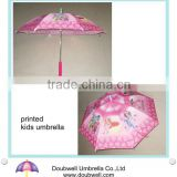 best selling children umbrella is cartoon artwork printed kid umbrella