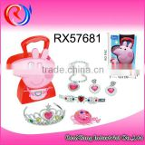 Funny kid cosmetics set pretend play toy plastic toy makeup set