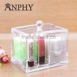 C56 ANPHY PS Crystal Makeup Box with Lid for lipstick lip gloss or lip balm                                                                         Quality Choice