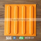 Rubber tactile tile guide path rubber blind road