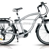 electric pedal assisted bicycle