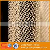 Hebei Shuolong provide metal architectural cascade coil metal mesh curtain drapery / metal mesh shower curtains